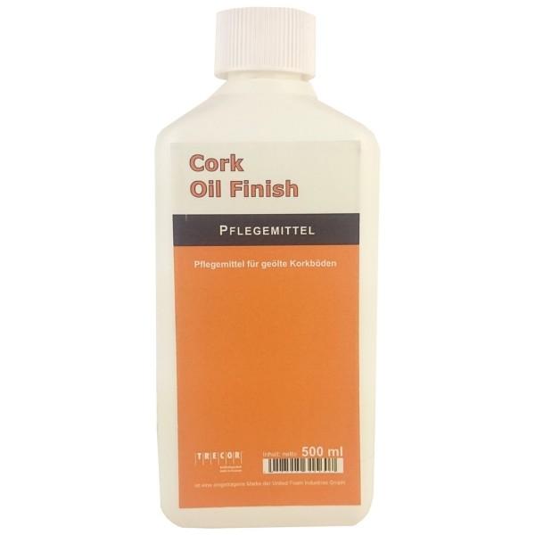Trecor® Kork Oil Finish Pflegemittel / Bodenpflege für geölte Kork- und Parkettböden - 500 ml