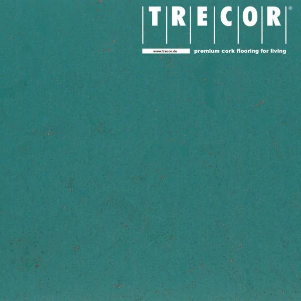 TRECOR® Korkboden mit Klicksystem MAFRA Korkfertigparkett - 10 mm Stark - Farbe: Minttürkis