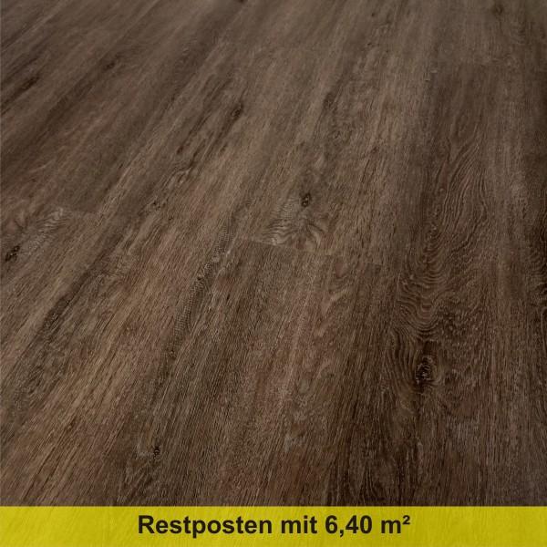TRECOR Klick Vinylboden LVT 5.0 massiv - Räuchereiche LHD - mit micro V-Fuge - 5 mm Stark