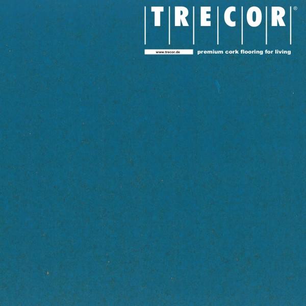 """TRECOR® Korkboden mit Klicksystem """"PORTO"""" Korkfertigparkett - 10,5 mm Stark - Farbe: Himmelblau"""