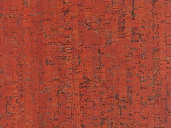 TRECOR® Korkboden mit Klicksystem MAZARA Korkfertigparkett - 10,5 mm Stark - Farbe: Korallenrot