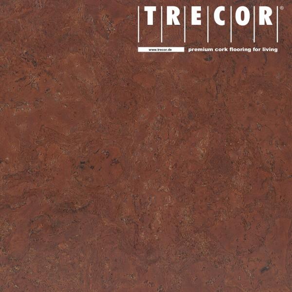 "Korkboden TRECOR® CLASSIC ""Klebekork ""FRAMENTO"" Stärke: 4 mm, Oberfläche: ROH - Farbe: Rotbraun"