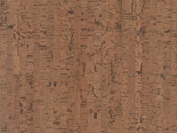 TRECOR® Korkboden mit Klicksystem MAZARA Korkfertigparkett - 10,5 mm Stark - Farbe: Braunrot