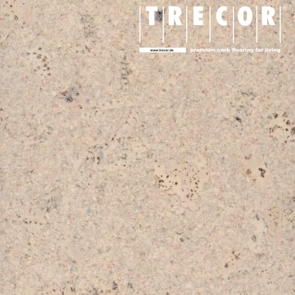 "TRECOR® Korkboden mit Klicksystem ""Lisboa"" 10 mm Stark - Farbe: Creme"