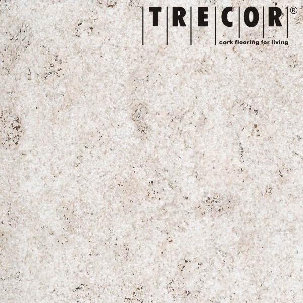 TRECOR® Korkboden mit Klicksystem MAFRA Korkfertigparkett - 10 mm Stark - Farbe: Weiß