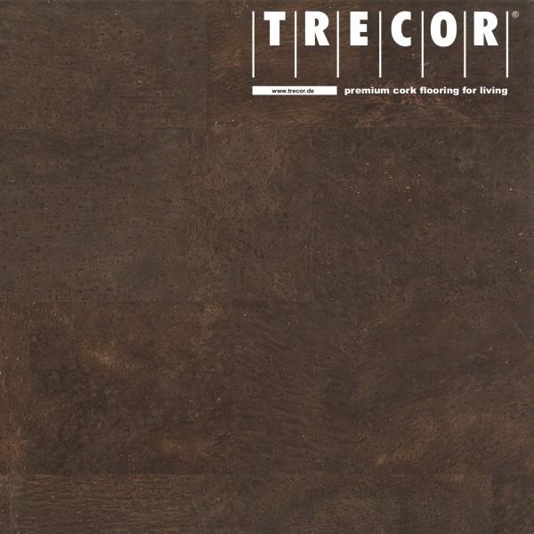 "TRECOR® Korkboden mit Klicksystem ""MERIDA"" - 10 mm Stark - Farbe: Dunkelbraun"