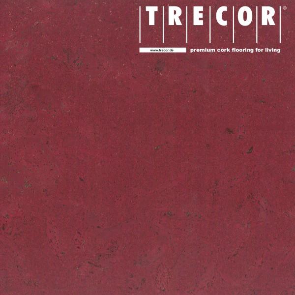 TRECOR® Korkboden mit Klicksystem MAFRA Korkfertigparkett - 10 mm Stark - Farbe: Purpurrot