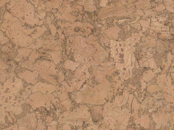 Korkboden TRECOR® CLASSIC Klebekork VARESE Stärke: 4 mm, Oberfläche: ROH - Farbe: Natur