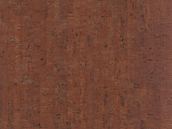 Korkboden TRECOR® CLASSIC Klebekork MAZARA Stärke: 4 mm, Oberfläche: ROH - Farbe: Mahagonibraun