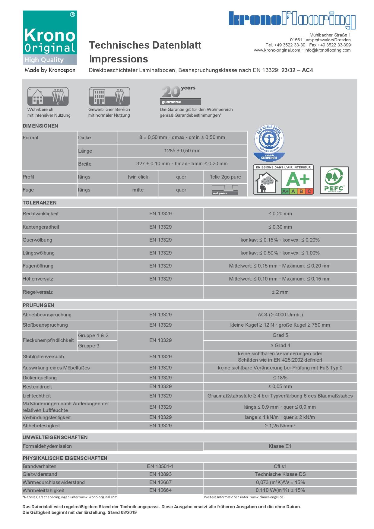 Technisches_Datenblatt_Impressions_dt_Pure