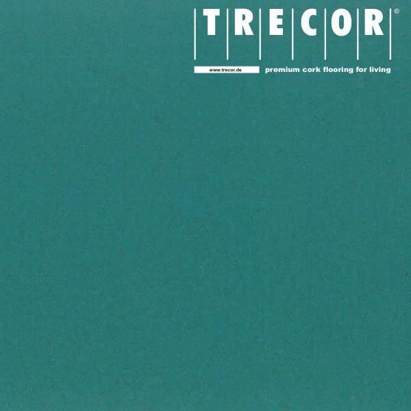 "Korkboden TRECOR® CLASSIC ""Klebekork ""PORTO"" Stärke: 4 mm, Oberfläche: ROH - Farbe: Minttürkis"