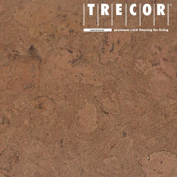 """TRECOR® Korkboden mit Klicksystem """"VARESE"""" Korkfertigparkett - 10,5 mm Stark - Farbe: Braunrot"""