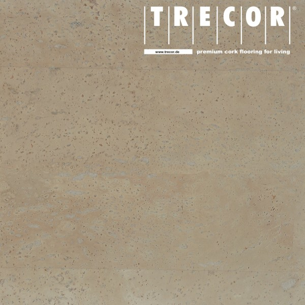 "TRECOR® Korkboden mit Klicksystem ""MERIDA"" - 10 mm Stark - Farbe: Kieselgrau"