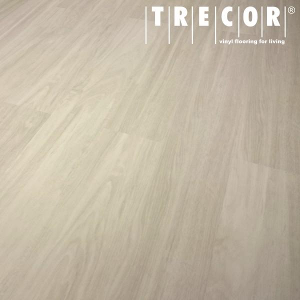TRECOR® Klick Vinylboden RIGID 4.2 - Eiche weiß Landhausdiele - 4,2 mm Stark, Nutzschicht: 0,3 mm