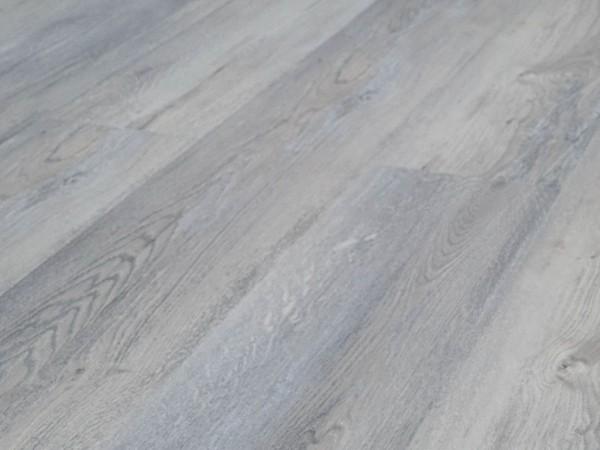 TRECOR® Klick Vinylboden RIGID 5.0+, Exclusiv Eiche Hellgrau Landhausdiele XL-Diele