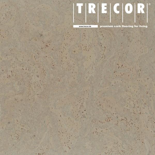 "TRECOR® Korkboden mit Klicksystem ""STILO"" Korkfertigparkett - 10 mm Stark - Farbe: Kieselgrau"