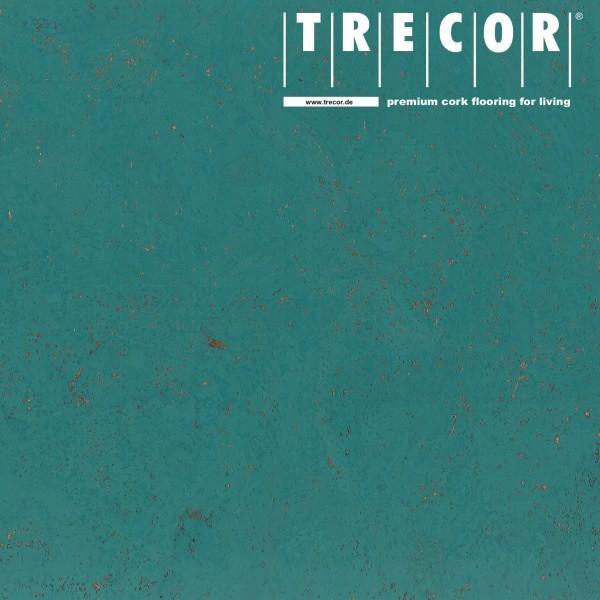"Korkboden TRECOR® CLASSIC ""Klebekork ""STILO"" Stärke: 4 mm, Oberfläche: ROH - Farbe: Minttürkis"