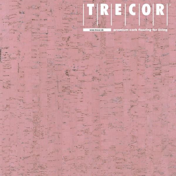 "Korkboden TRECOR® CLASSIC ""Klebekork ""MAZARA"" Stärke: 4 mm, Oberfläche: ROH - Farbe: Hellrosa"