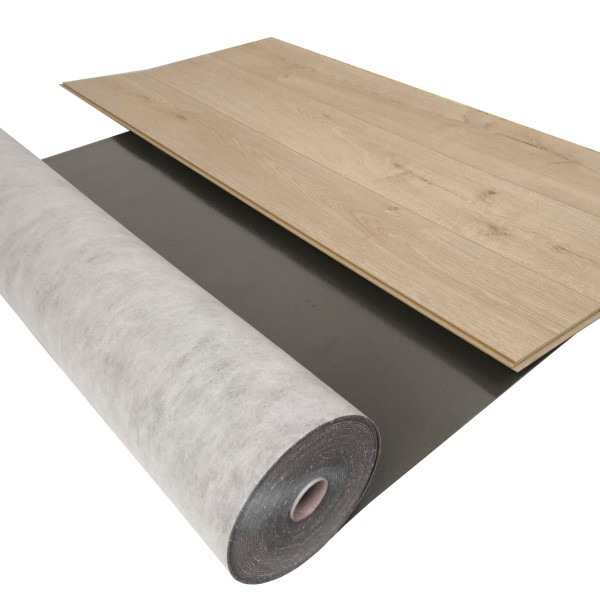 uficell® Silence Floor Akustik Trittschalldämmung mit Mineralsandfüllung, 3 mm Stark. B-Ware