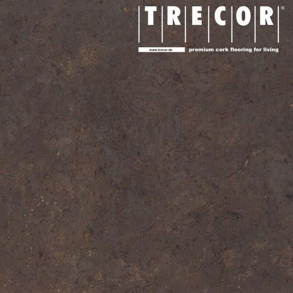"TRECOR® Korkboden mit Klicksystem ""STILO"" Korkfertigparkett - 10 mm Stark - Farbe: Dunkelbraun"