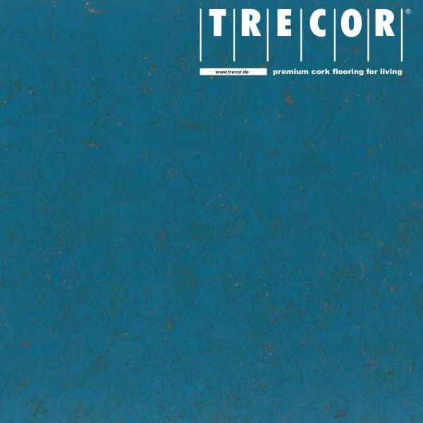 """TRECOR® Korkboden mit Klicksystem """"EVORA"""" Korkfertigparkett - 10,5 mm Stark - Farbe: Himmelblau"""