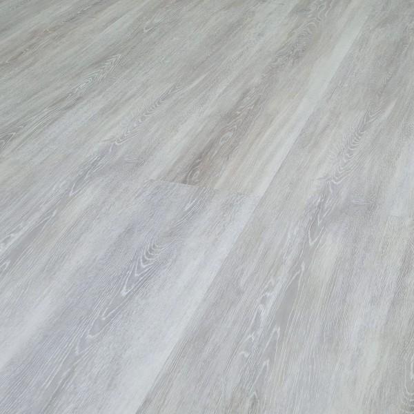 TRECOR® Klick Vinylboden RIGID 6.5 - Eiche Premium Silber Landhausdiele XXL