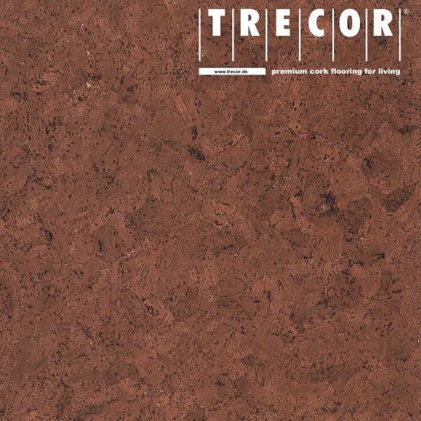"""TRECOR® Korkboden mit Klicksystem """"EVORA"""" Korkfertigparkett - 10,5 mm Stark - Farbe: Rotbraun"""