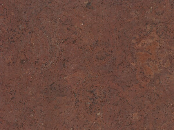 TRECOR® Korkboden mit Klicksystem STILO Korkfertigparkett - 10 mm Stark - Farbe: Rotbraun