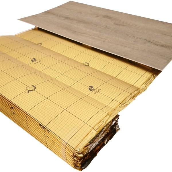 uficell® VINOLOCK® professional Vinyl Trittschalldämmung mit Anti-Slip Technologie