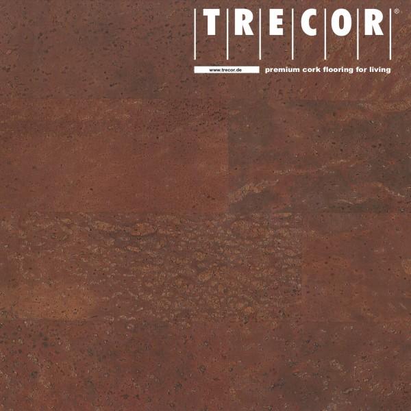 """TRECOR® Korkboden mit Klicksystem """"MERIDA"""" - 10 mm Stark - Farbe: Rotbraun"""