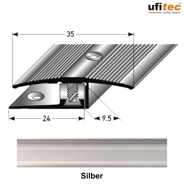 ufitec® Übergangsprofil - TPL Flex - für Belagshöhen von 7-17 mm / 12-22 mm