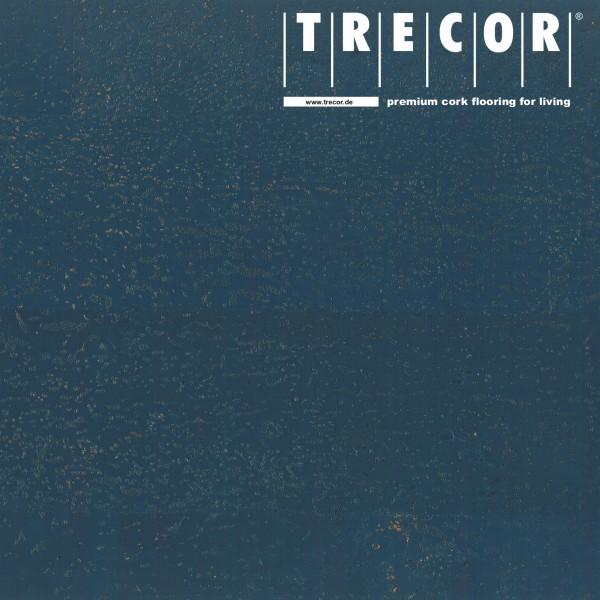 "Korkboden TRECOR® CLASSIC ""Klebekork ""MERIDA"" Stärke: 4 mm, Oberfläche: ROH - Farbe: Violettblau"