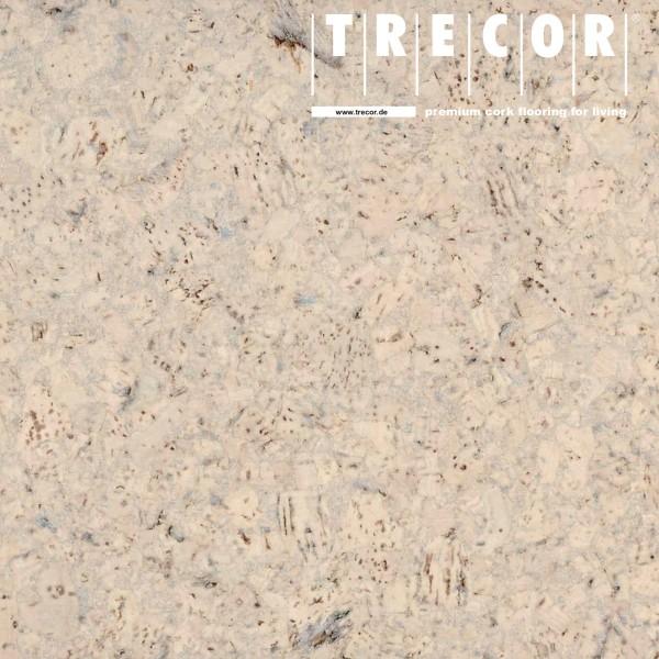 "TRECOR® Korkboden mit Klicksystem ""EVORA"" Korkfertigparkett - 10,5 mm Stark - Farbe: Creme"