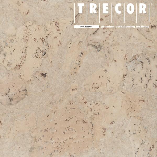 "Korkboden TRECOR® CLASSIC ""Klebekork ""VARESE"" Stärke: 4 mm, Oberfläche: ROH - Farbe: Perlweiß"
