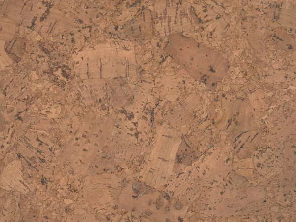 Korkboden TRECOR® CLASSIC Klebekork FORTI Stärke: 4 mm, Oberfläche: ROH - Farbe: Braunrot