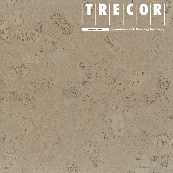 """Korkboden TRECOR® CLASSIC """"Klebekork """"FORTI"""" Stärke: 4 mm, Oberfläche: ROH - Farbe: Kieselgrau"""