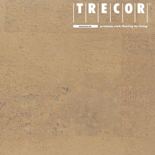 """Korkboden TRECOR® CLASSIC """"Klebekork """"MERIDA"""" Stärke: 4 mm, Oberfläche: ROH - Farbe: Elfenbein"""