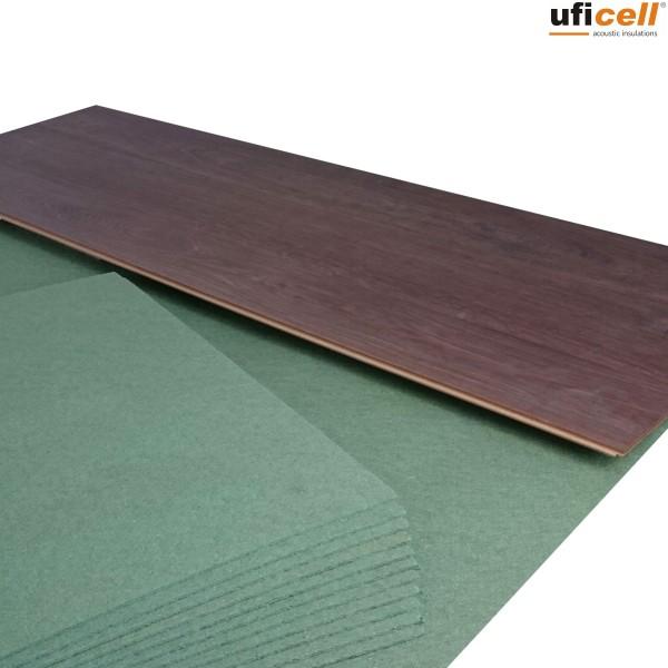 uficell® PARQUET FELT | Trittschalldämmung aus Holzfaser - Stärke: 5 mm