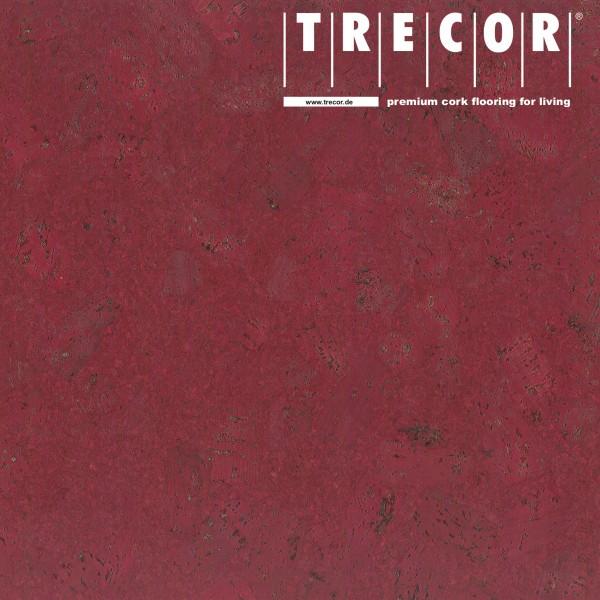 """TRECOR® Korkboden mit Klicksystem """"FORTI"""" Korkfertigparkett - 10,5 mm Stark - Farbe: Purpurrot"""