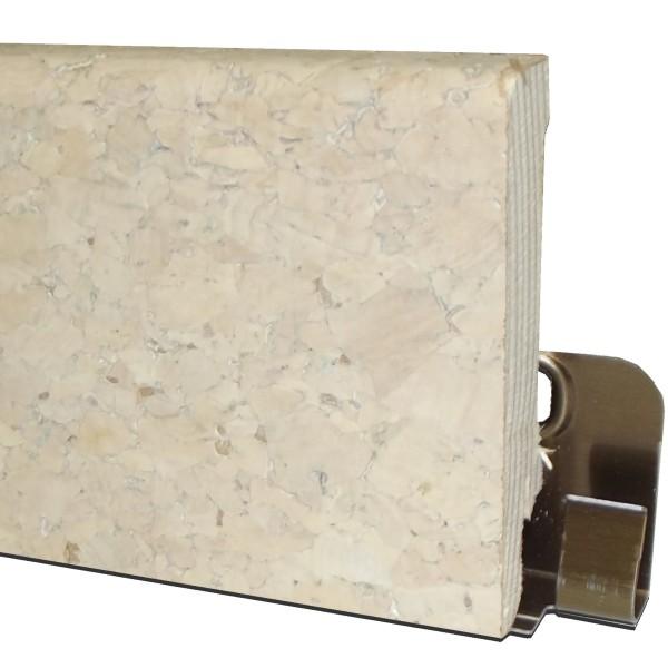 "Trecor® Korksockelleiste ""GROB"" mit Echtkorkoberfläche, Serie: Excluxiv, Höhe: 60 mm"