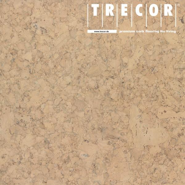 "TRECOR® Korkboden mit Klicksystem ""EVORA"" Korkfertigparkett - 10,5 mm Stark - Farbe: Elfenbein"