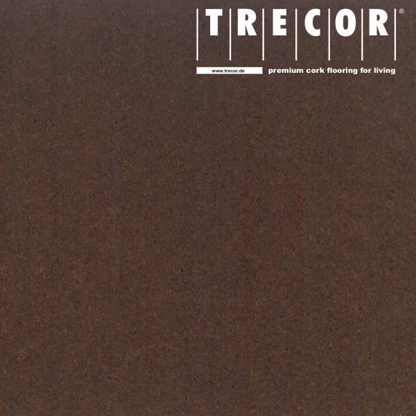 "Korkboden TRECOR® CLASSIC ""Klebekork ""PORTO"" Stärke: 4 mm, Oberfläche: ROH - Farbe: Dunkelbraun"