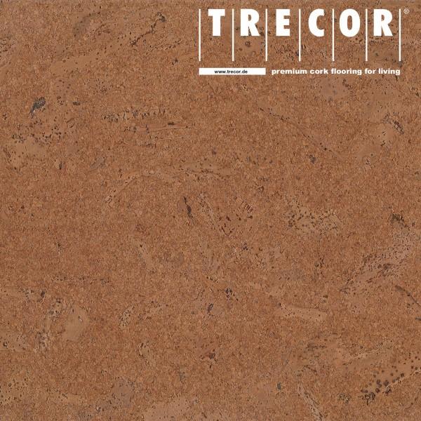 TRECOR® Korkboden mit Klicksystem MAFRA Korkfertigparkett - 10 mm Stark - Farbe: Braunrot