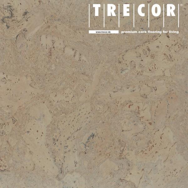 "Korkboden TRECOR® CLASSIC ""Klebekork ""FRAMENTO"" Stärke: 4 mm, Oberfläche: ROH - Farbe: Kieselgrau"
