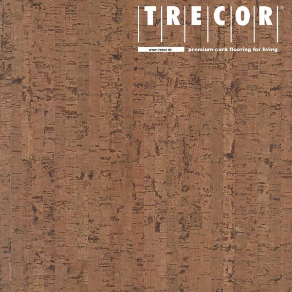 "Korkboden TRECOR® CLASSIC ""Klebekork ""MAZARA"" Stärke: 4 mm, Oberfläche: ROH - Farbe: Braunrot"