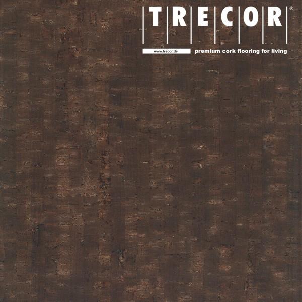 "TRECOR® Korkboden mit Klicksystem ""MAZARA"" Korkfertigparkett - 10,5 mm Stark - Farbe: Dunkelbraun"
