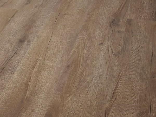 Vinylboden massiv zum Kleben - Holzdekor - Prestige Eiche Dunkel Landhausdiele - 2,5 mm stark
