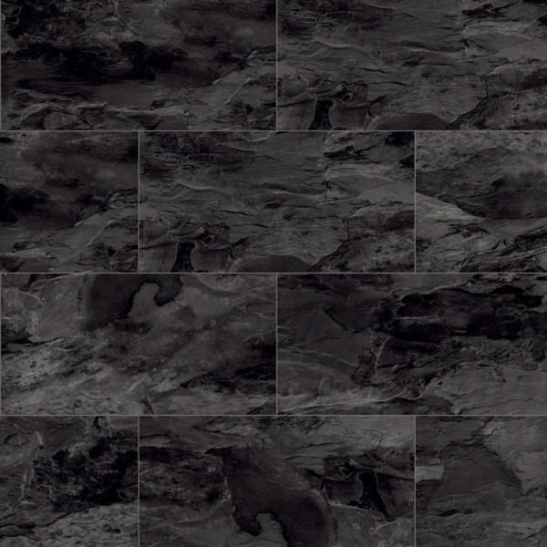 Laminatboden Fliesenoptik kronoOriginal - Impression - Nightfall Slate, Fliese (OS) ) mit U-Fuge K3