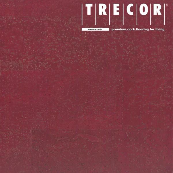 """TRECOR® Korkboden mit Klicksystem """"MERIDA"""" - 10 mm Stark - Farbe: Purpurrot"""