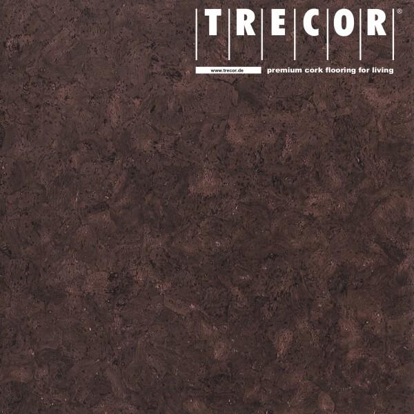 "TRECOR® Korkboden mit Klicksystem ""EVORA"" Korkfertigparkett - 10,5 mm Stark - Farbe: Dunkelbraun"